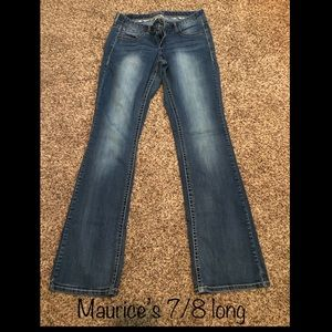 Women's Maurice's jeans